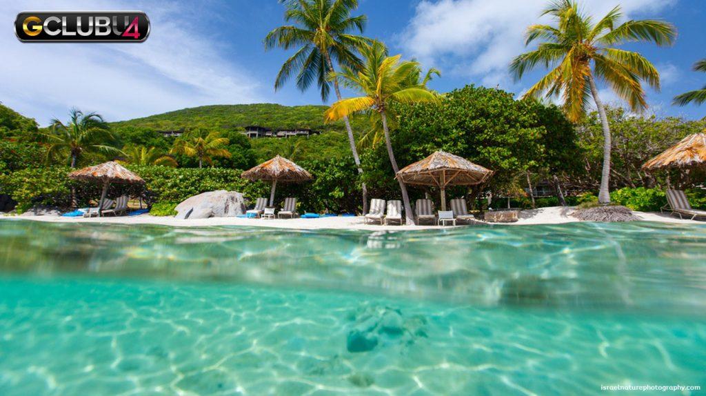 สถานที่ที่สวยที่สุดในหมู่เกาะบริติชเวอร์จิน