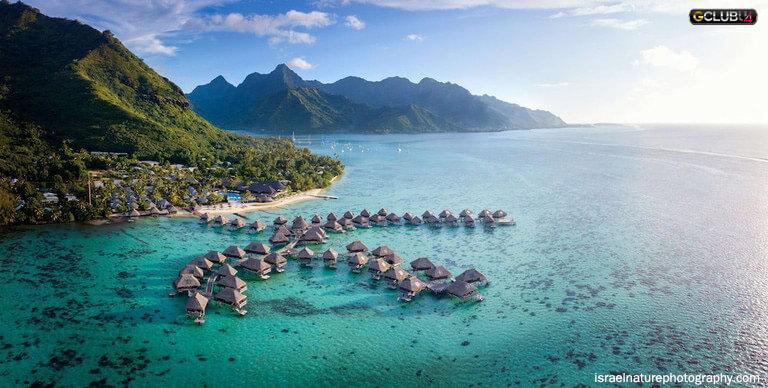 รีสอร์ทสุดหรูในหมู่เกาะแปซิฟิก